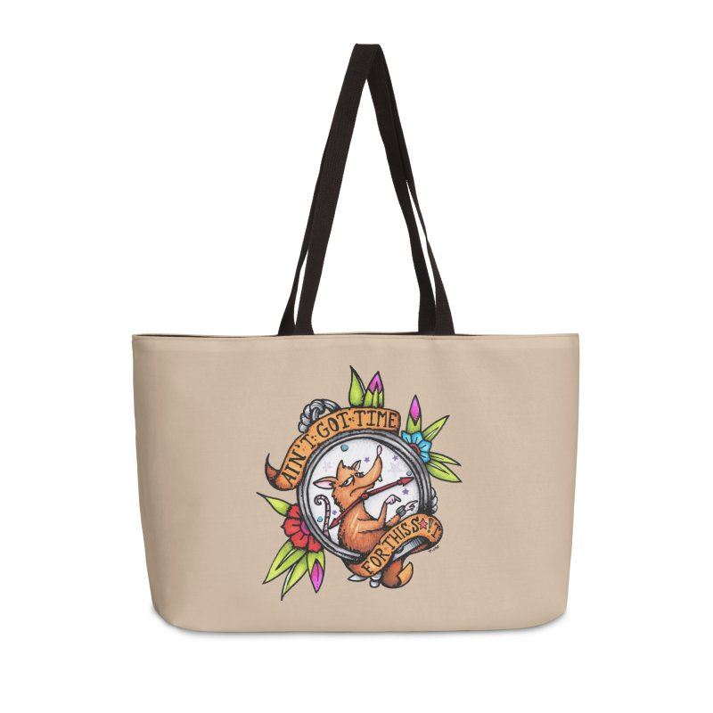 Time Accessories Weekender Bag Bag by tmoney's Artist Shop