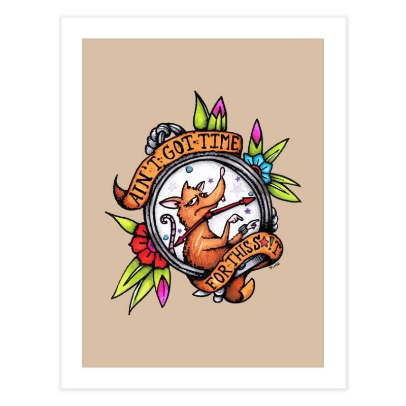 Time Home Fine Art Print by tmoney's Artist Shop