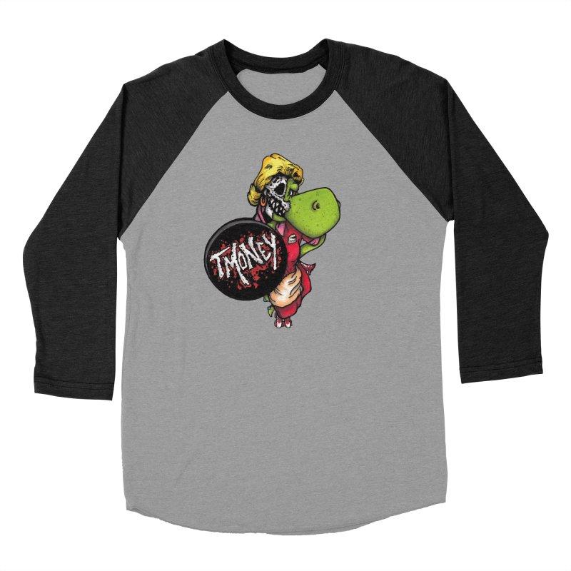 Waitress in Men's Baseball Triblend Longsleeve T-Shirt Heather Onyx Sleeves by tmoney's Artist Shop