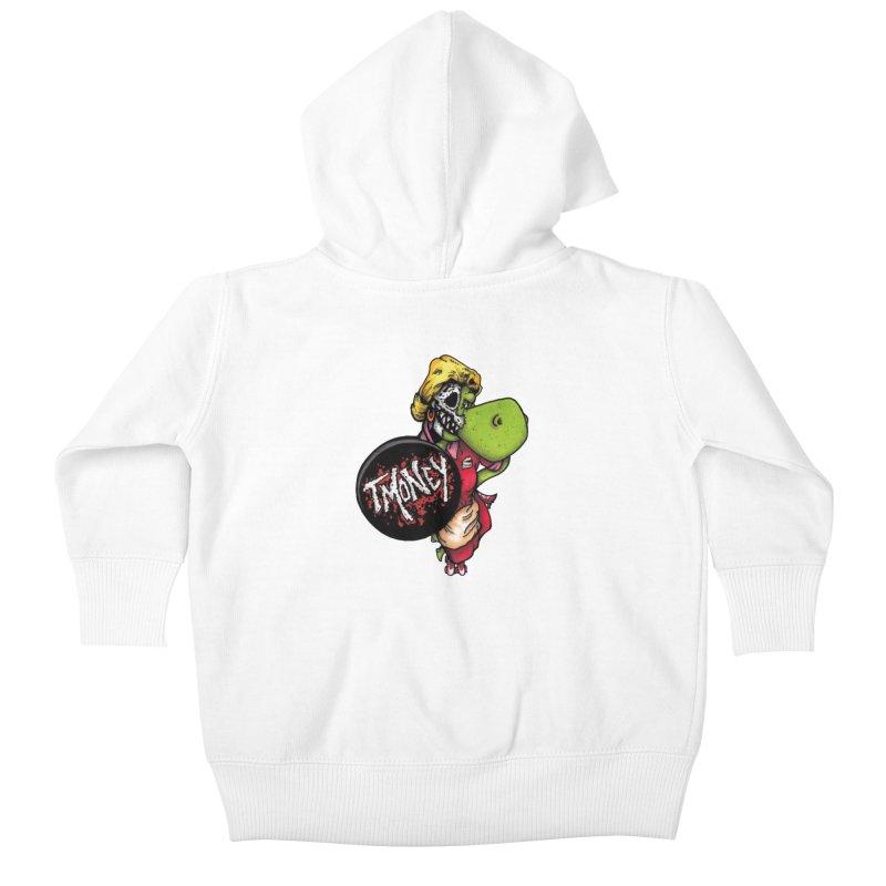 Waitress Kids Baby Zip-Up Hoody by tmoney's Artist Shop
