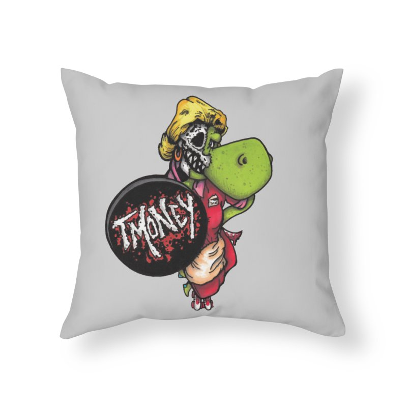 Waitress Home Throw Pillow by tmoney's Artist Shop