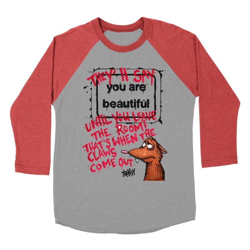 YAB Men's Baseball Triblend Longsleeve T-Shirt by tmoney's Artist Shop
