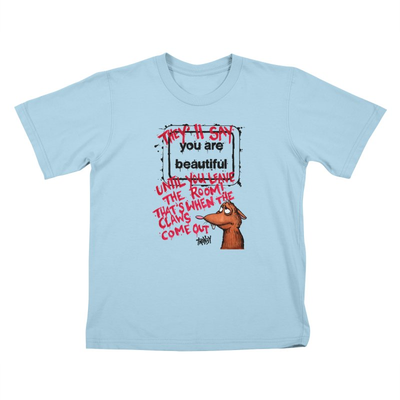 YAB Kids T-Shirt by tmoney's Artist Shop
