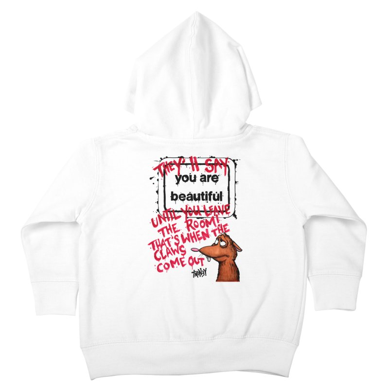 YAB Kids Toddler Zip-Up Hoody by tmoney's Artist Shop