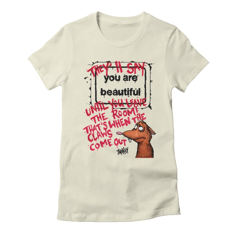 YAB Women's Fitted T-Shirt by tmoney's Artist Shop