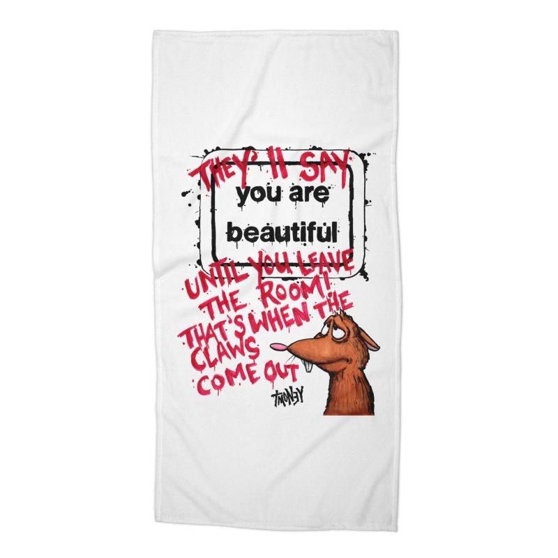 YAB Accessories Beach Towel by tmoney's Artist Shop