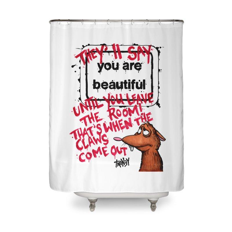 YAB Home Shower Curtain by tmoney's Artist Shop
