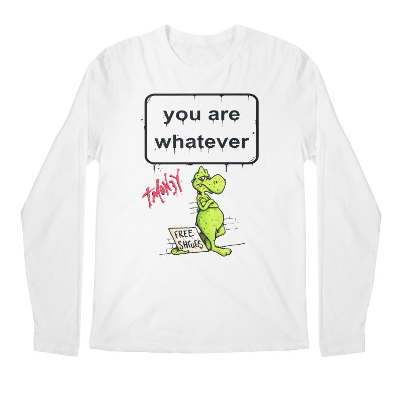 YAW Men's Regular Longsleeve T-Shirt by tmoney's Artist Shop