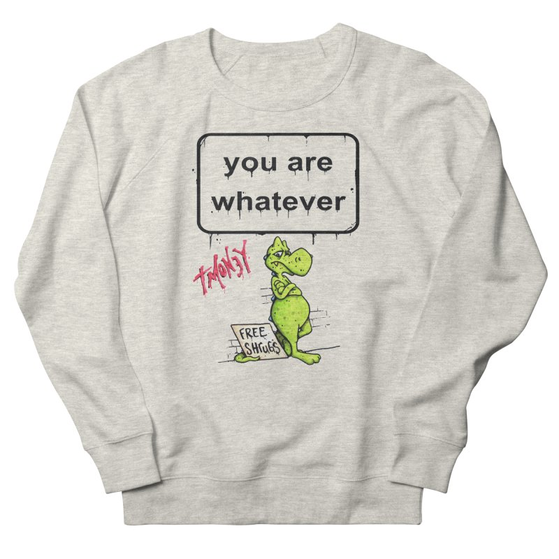 YAW Men's French Terry Sweatshirt by tmoney's Artist Shop