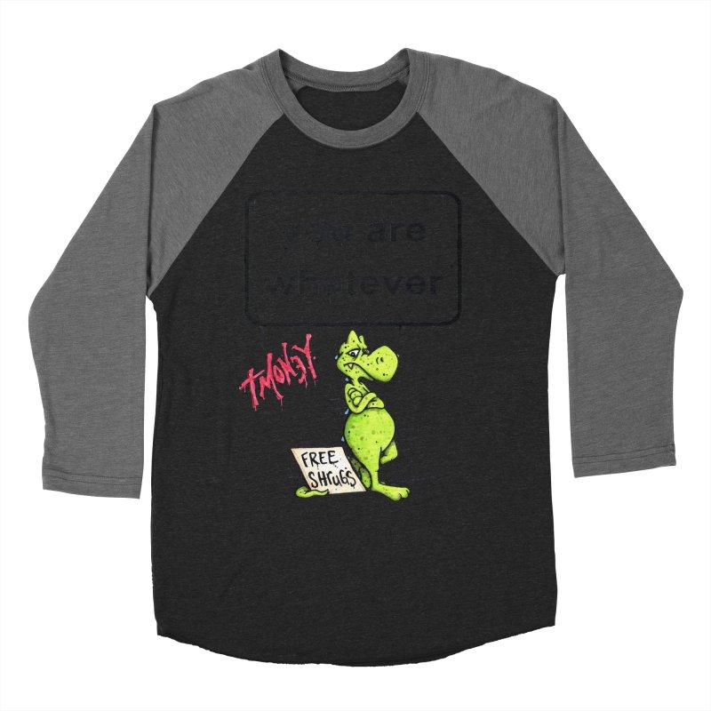 YAW Women's Baseball Triblend Longsleeve T-Shirt by tmoney's Artist Shop