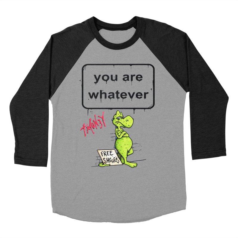 YAW Men's Baseball Triblend Longsleeve T-Shirt by tmoney's Artist Shop