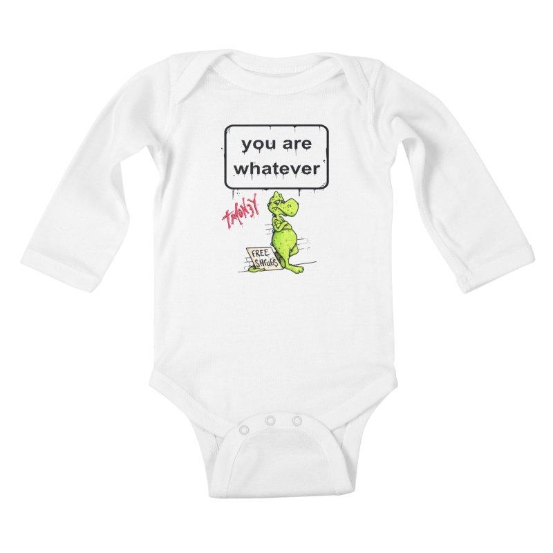 YAW Kids Baby Longsleeve Bodysuit by tmoney's Artist Shop