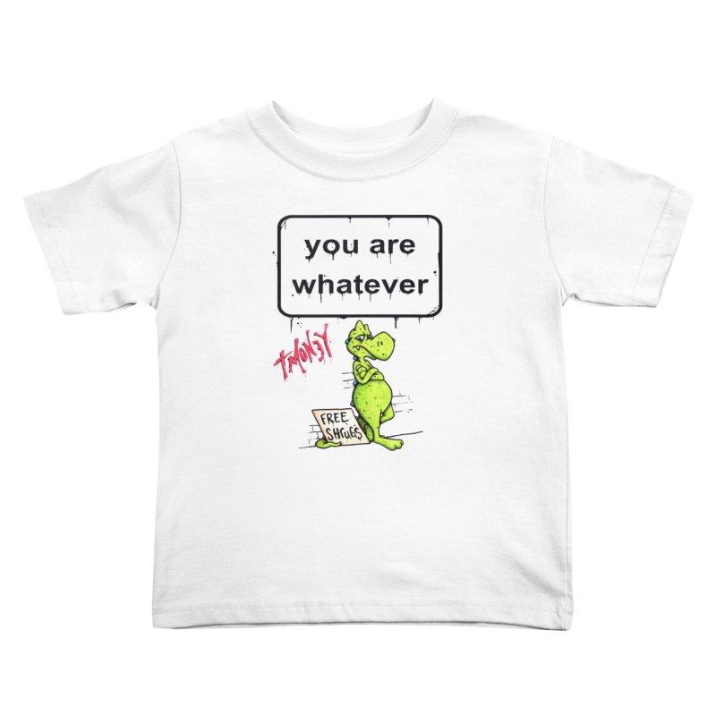 YAW Kids Toddler T-Shirt by tmoney's Artist Shop