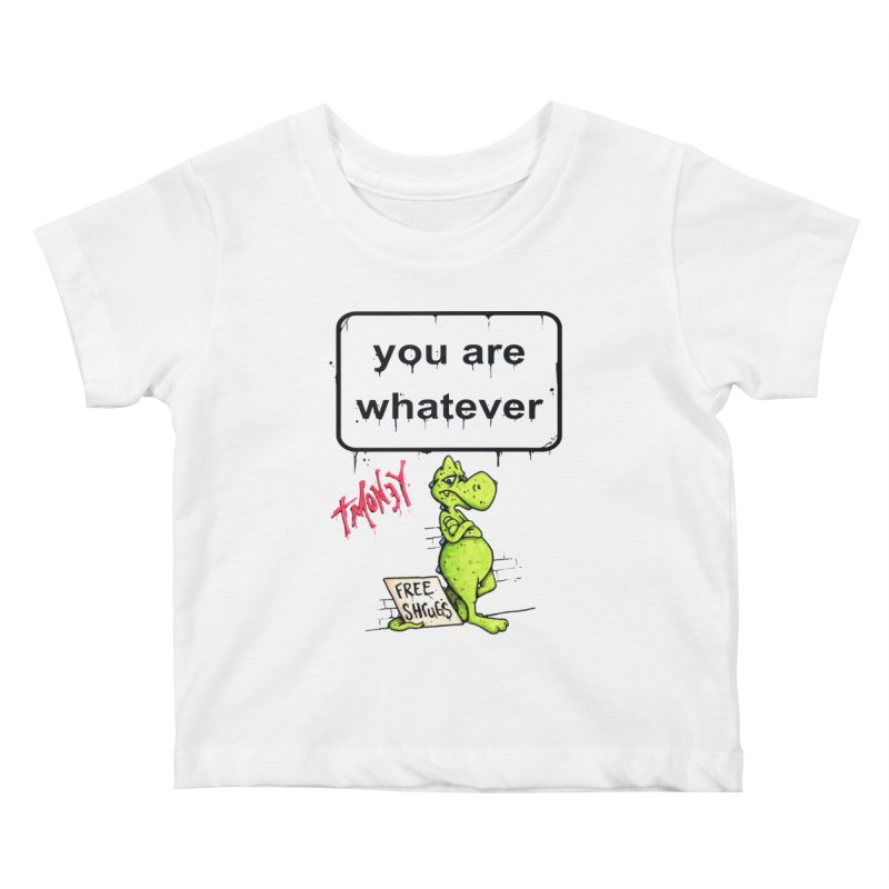 YAW Kids Baby T-Shirt by tmoney's Artist Shop