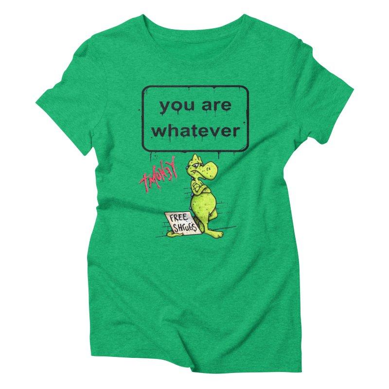 YAW Women's Triblend T-Shirt by tmoney's Artist Shop