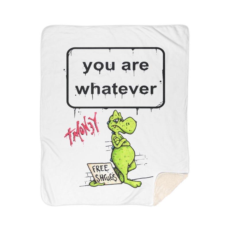 YAW Home Sherpa Blanket Blanket by tmoney's Artist Shop