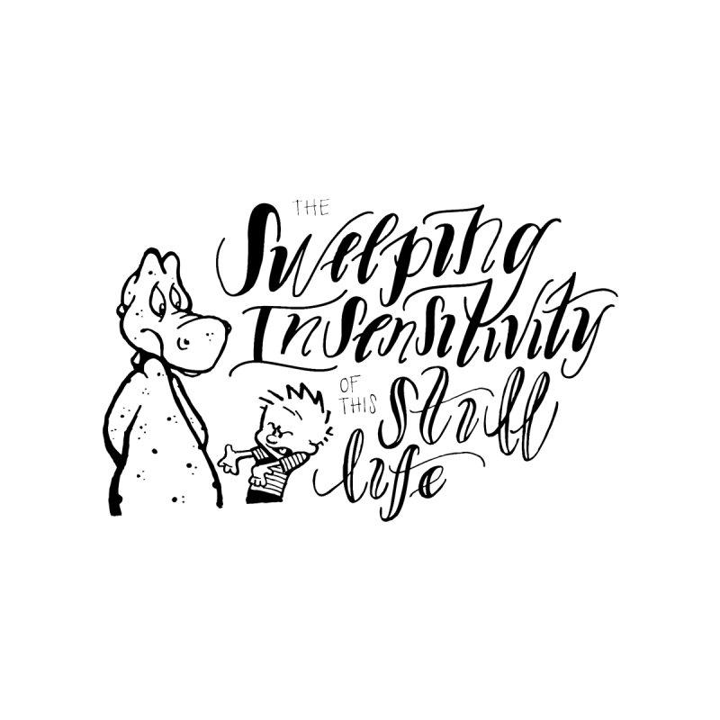 Sweeping Insensitivity - Black  Men's T-Shirt by tmoney's Artist Shop