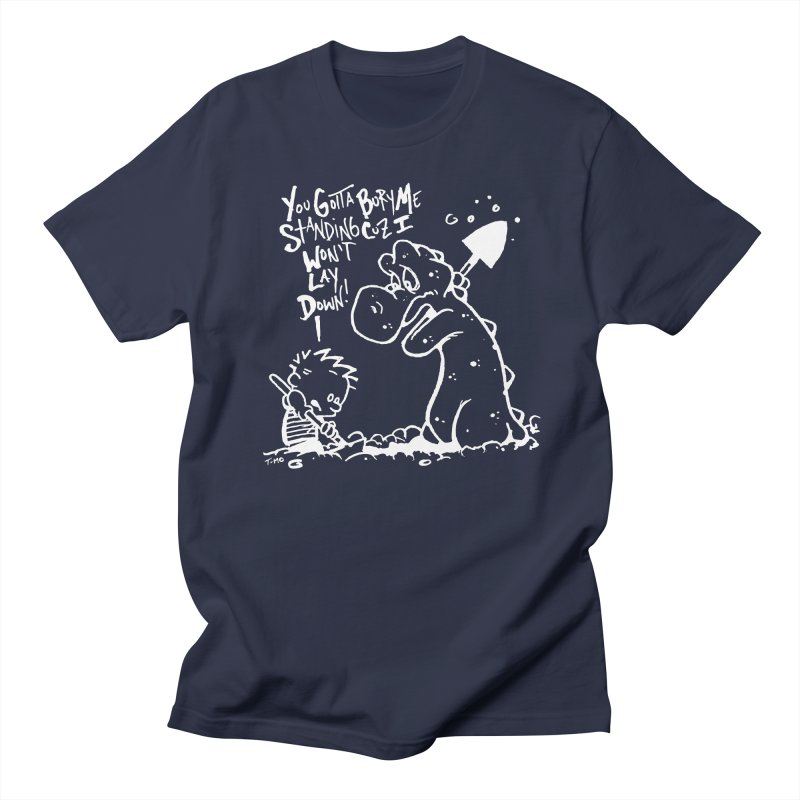 Bury Me Standing - Invert  Men's Regular T-Shirt by tmoney's Artist Shop