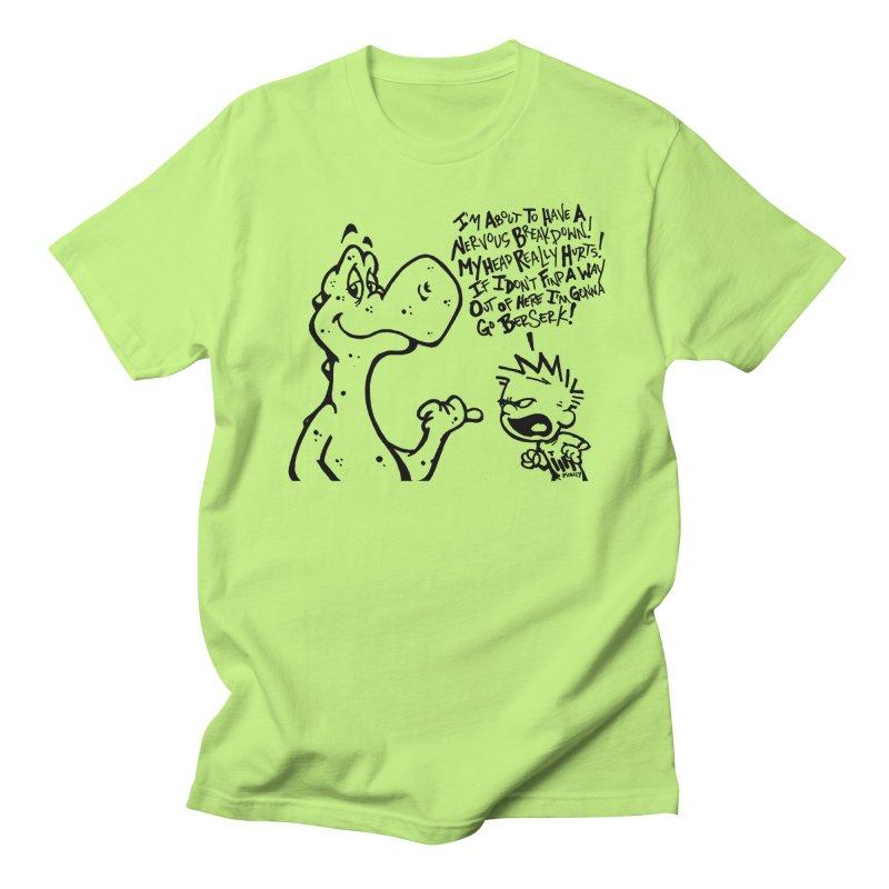 Go Berserk! in Men's Regular T-Shirt Neon Green by tmoney's Artist Shop