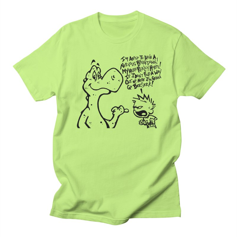 Go Berserk! in Men's Regular T-Shirt Neon Green by tmoney's Artist Shop