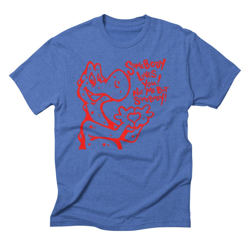 Love in Men's Triblend T-Shirt Blue Triblend by tmoney's Artist Shop
