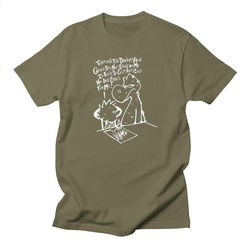 Grace - Invert  in Men's Regular T-Shirt Olive by tmoney's Artist Shop