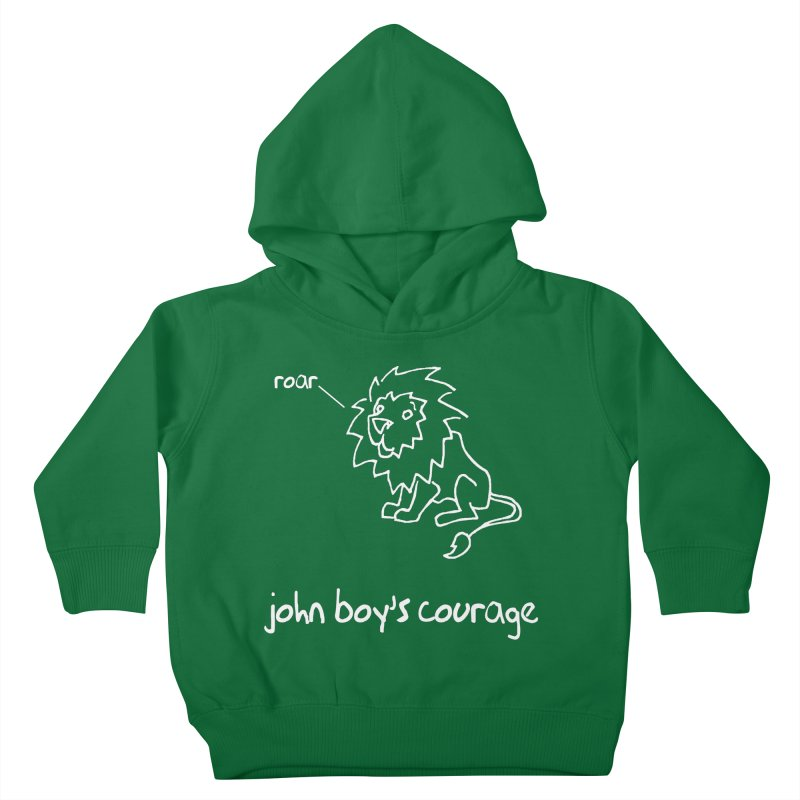 JBC Classic Lion Kids Toddler Pullover Hoody by TODD SARVIES BAND APPAREL