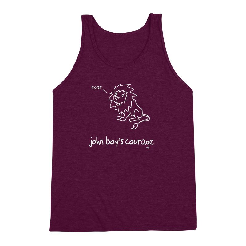 JBC Classic Lion Men's Triblend Tank by TODD SARVIES BAND APPAREL
