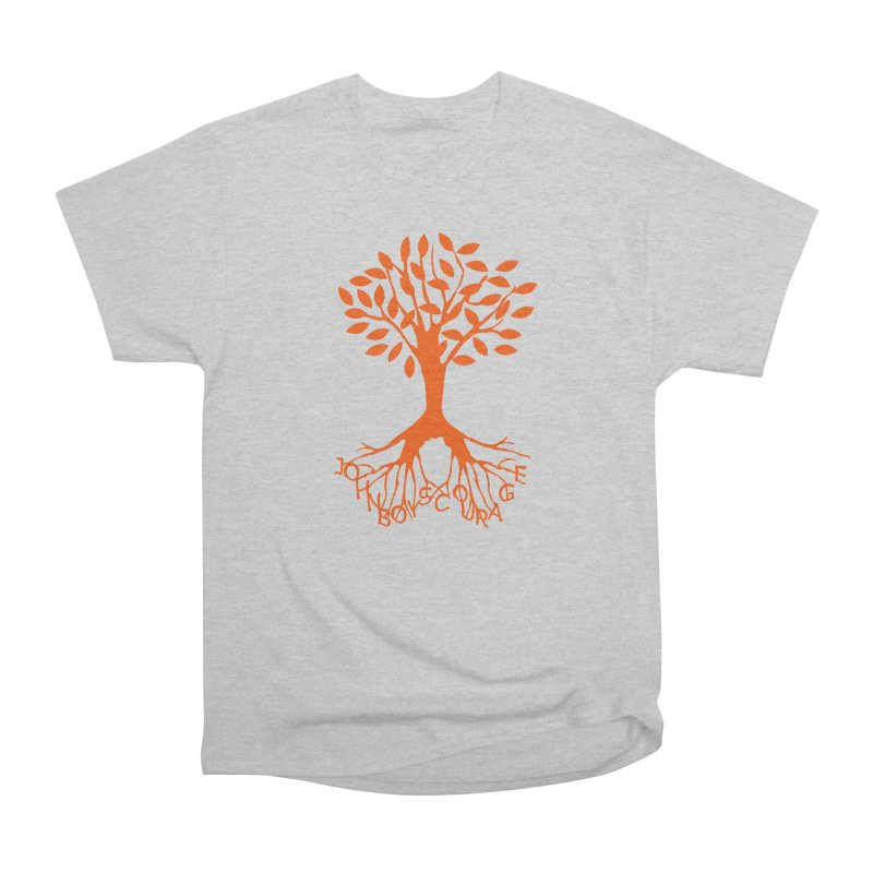 JBC Orange Tree Men's Heavyweight T-Shirt by Todd Sarvies Band Apparel