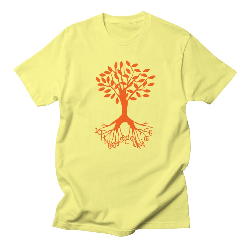 JBC Orange Tree in Men's T-Shirt Lemon by Todd Sarvies Band Apparel