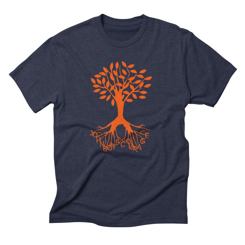 JBC Orange Tree Men's Triblend T-Shirt by Todd Sarvies Band Apparel