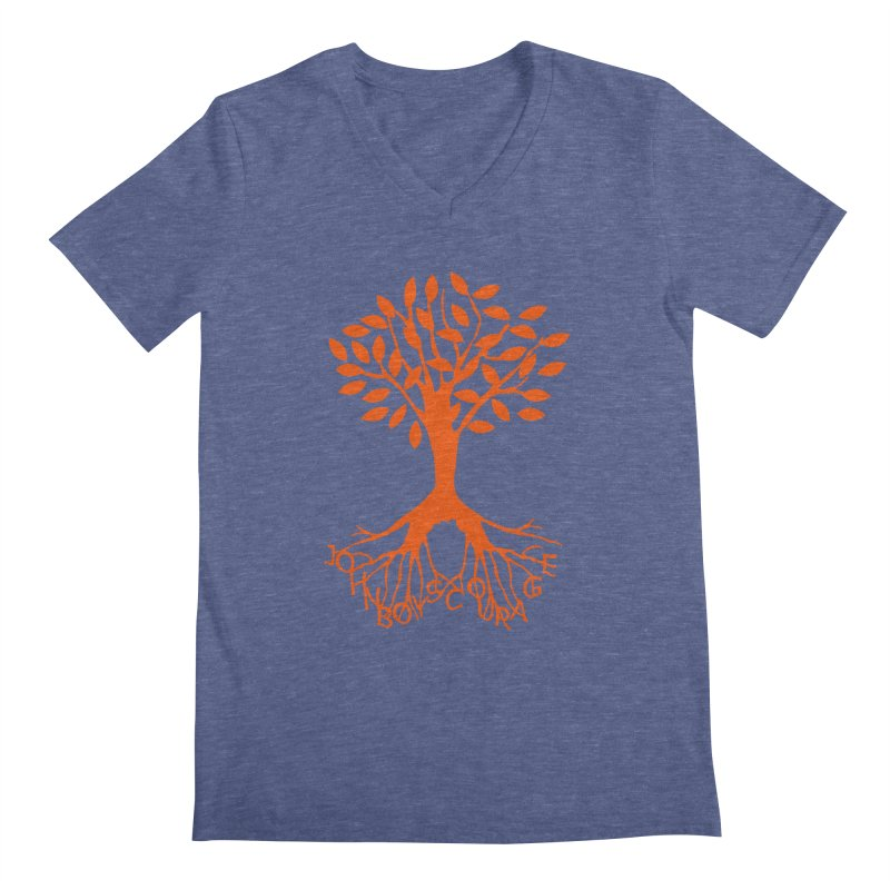 JBC Orange Tree Men's Regular V-Neck by TODD SARVIES BAND APPAREL