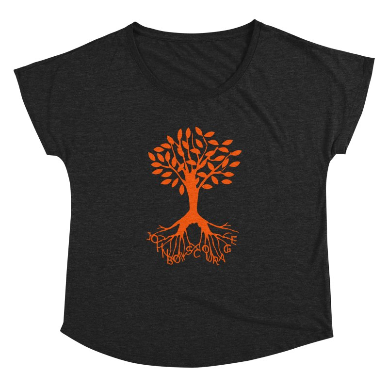 JBC Orange Tree Women's Dolman Scoop Neck by Todd Sarvies Band Apparel
