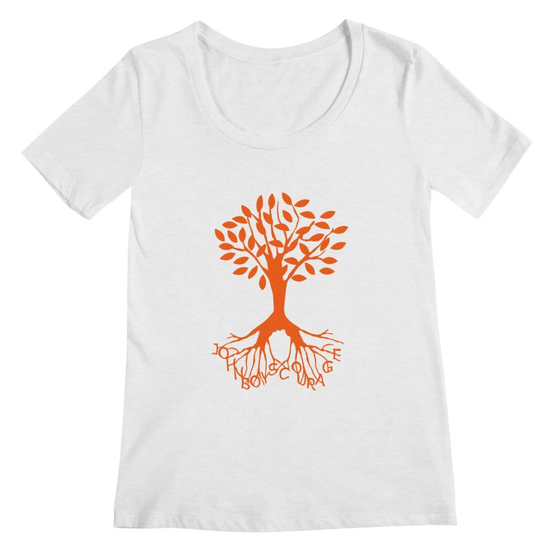 JBC Orange Tree Women's Scoopneck by Todd Sarvies Band Apparel