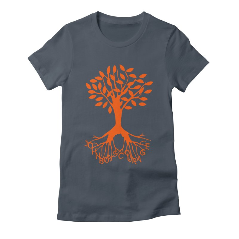 JBC Orange Tree Women's Fitted T-Shirt by Todd Sarvies Band Apparel