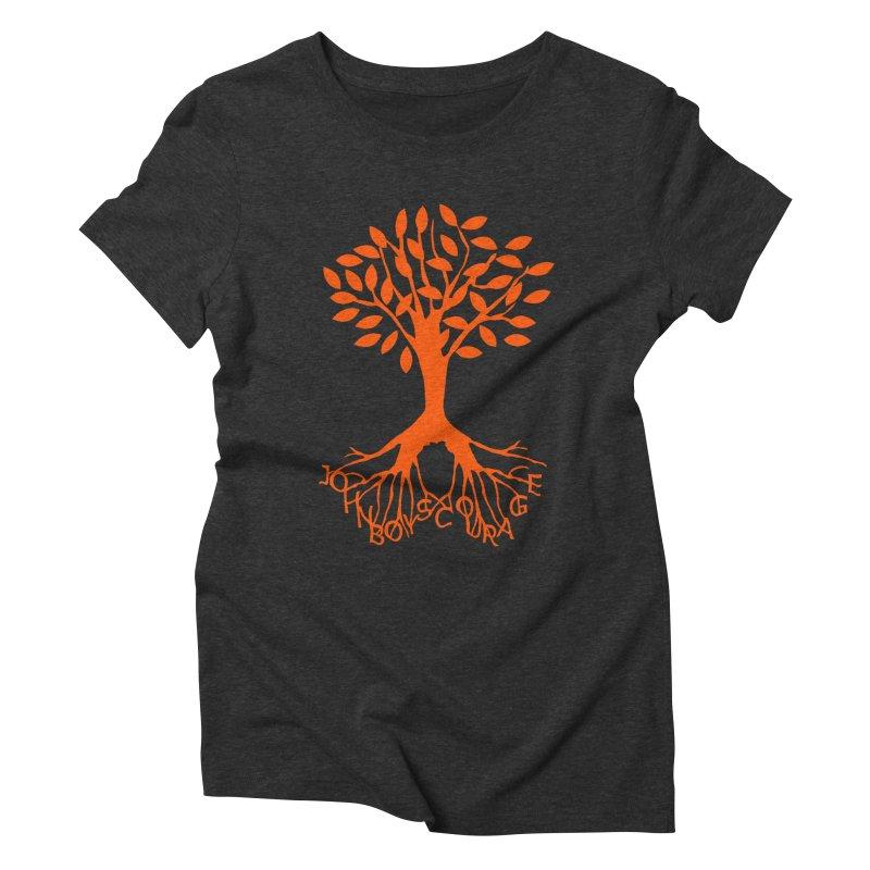 JBC Orange Tree Women's Triblend T-Shirt by Todd Sarvies Band Apparel