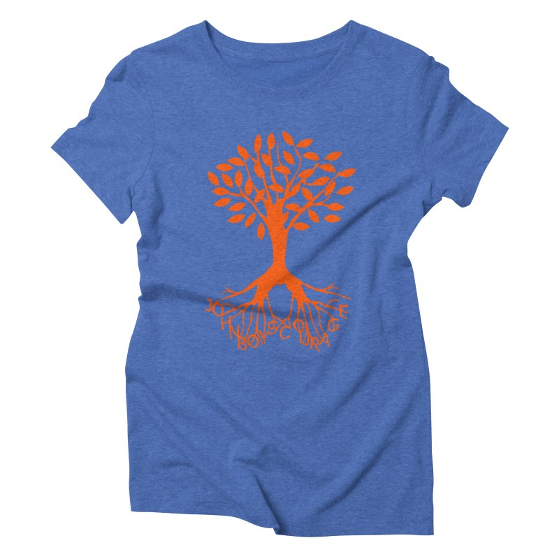 JBC Orange Tree Women's Triblend T-Shirt by Todd Sarvies Band Apparel
