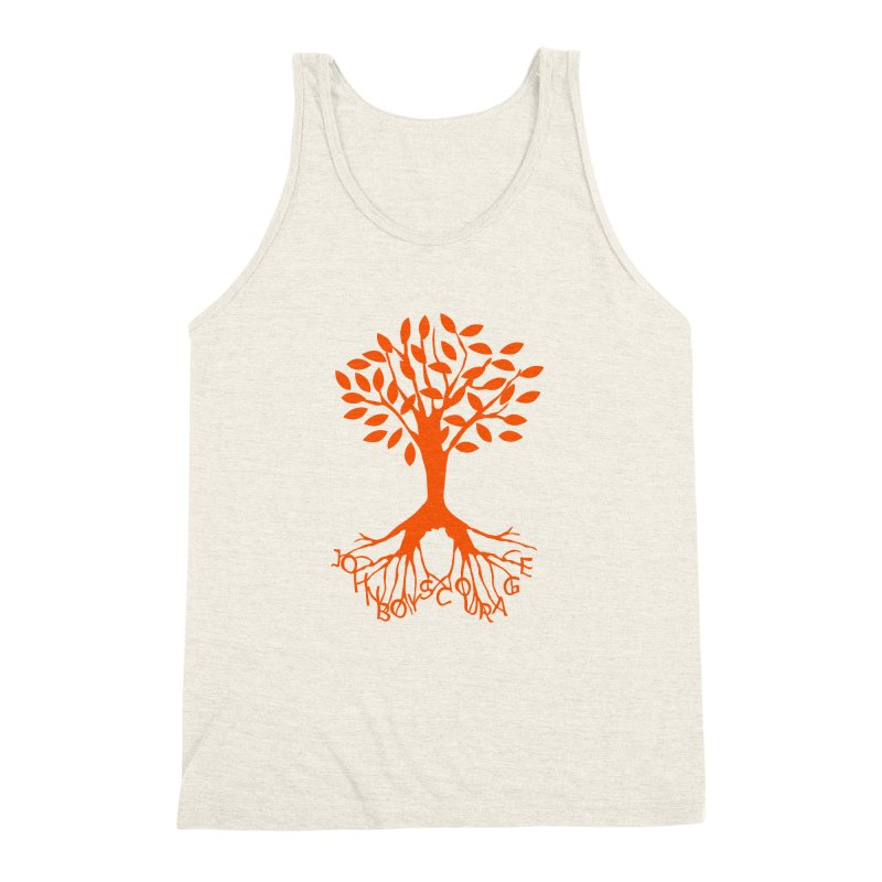 JBC Orange Tree Men's Triblend Tank by Todd Sarvies Band Apparel