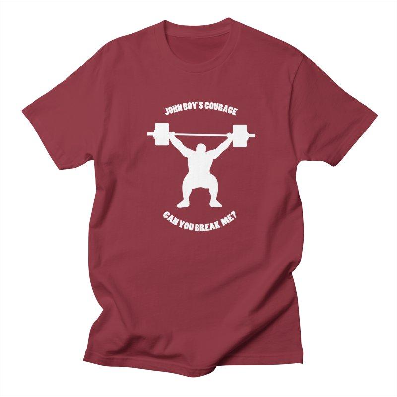 JBC Weight Lifter Men's Regular T-Shirt by Todd Sarvies Band Apparel