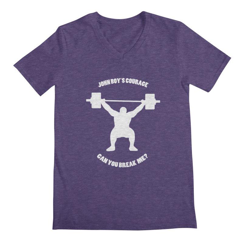 JBC Weight Lifter Men's Regular V-Neck by TODD SARVIES BAND APPAREL
