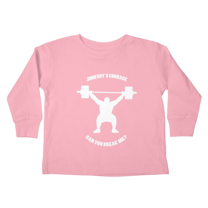 JBC Weight Lifter Kids Toddler Longsleeve T-Shirt by Todd Sarvies Band Apparel
