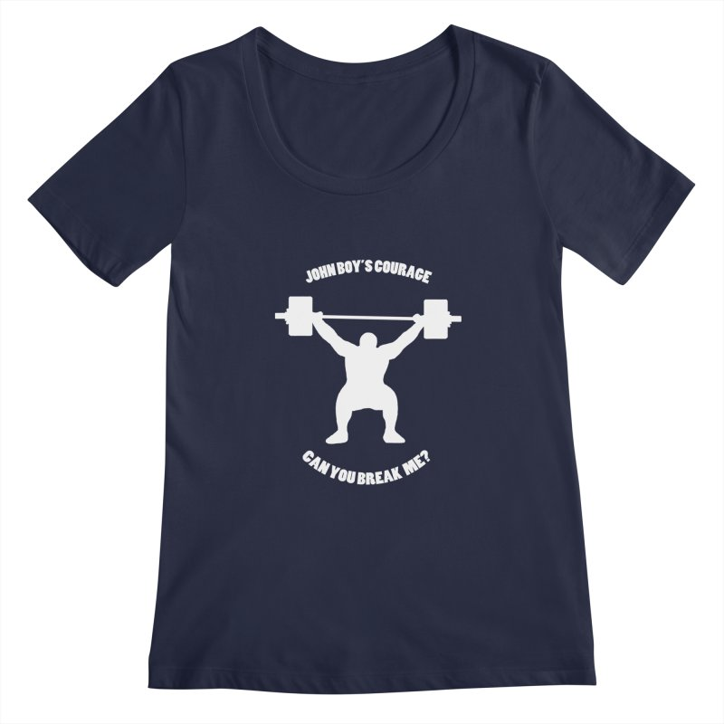 JBC Weight Lifter Women's Scoopneck by Todd Sarvies Band Apparel