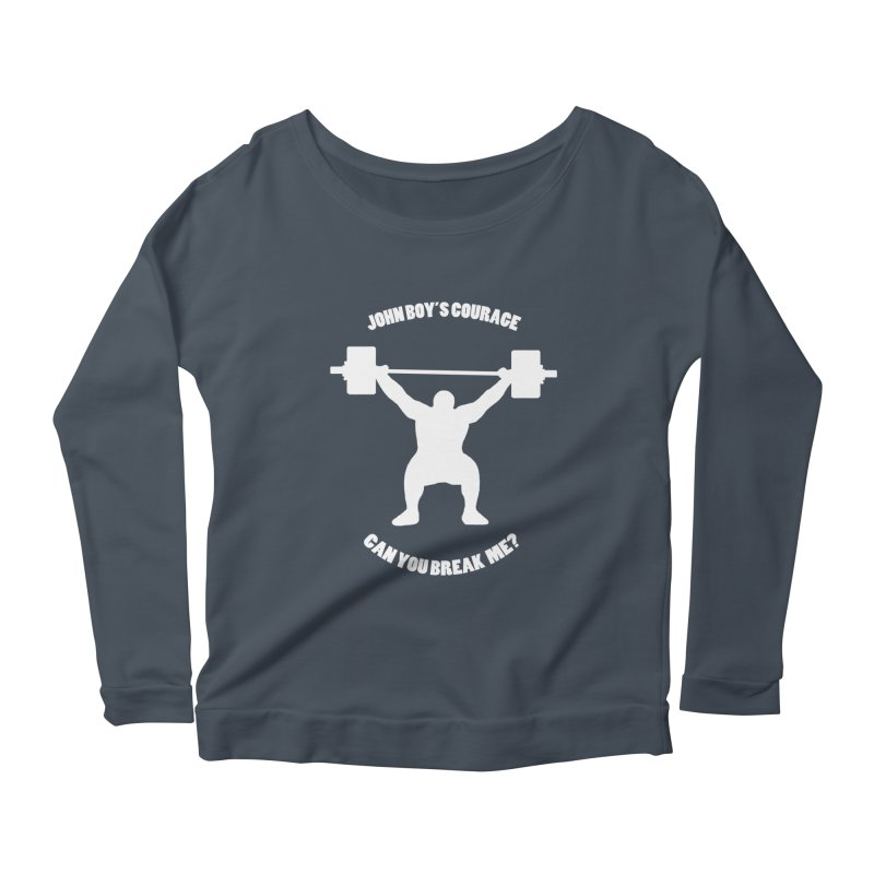 JBC Weight Lifter Women's Longsleeve Scoopneck  by Todd Sarvies Band Apparel