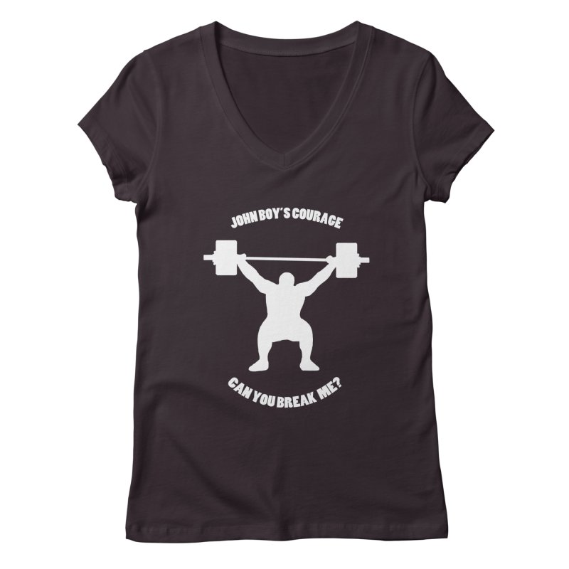 JBC Weight Lifter Women's V-Neck by Todd Sarvies Band Apparel