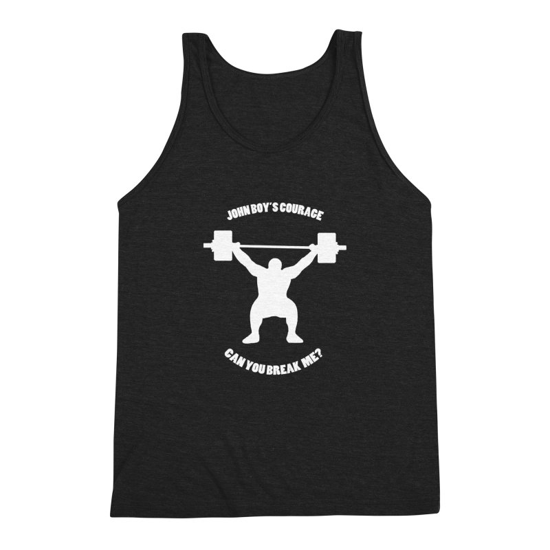 JBC Weight Lifter Men's Triblend Tank by Todd Sarvies Band Apparel