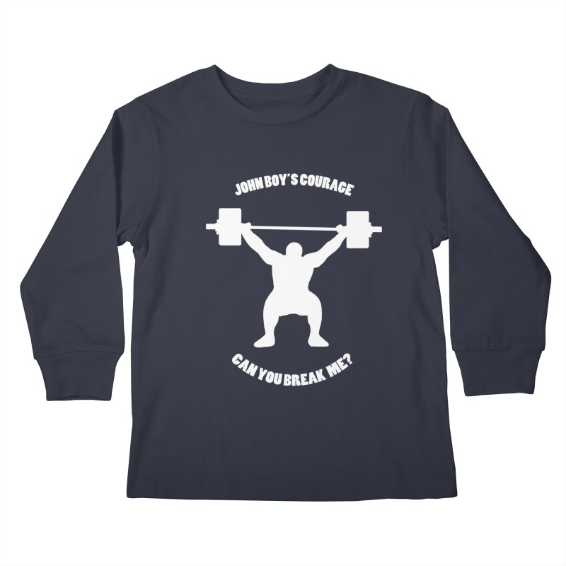 JBC Weight Lifter Kids Longsleeve T-Shirt by Todd Sarvies Band Apparel