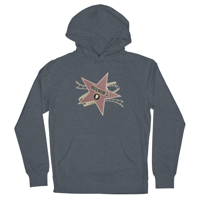 Hollywood 5 Star Women's Pullover Hoody by Todd Sarvies Band Apparel