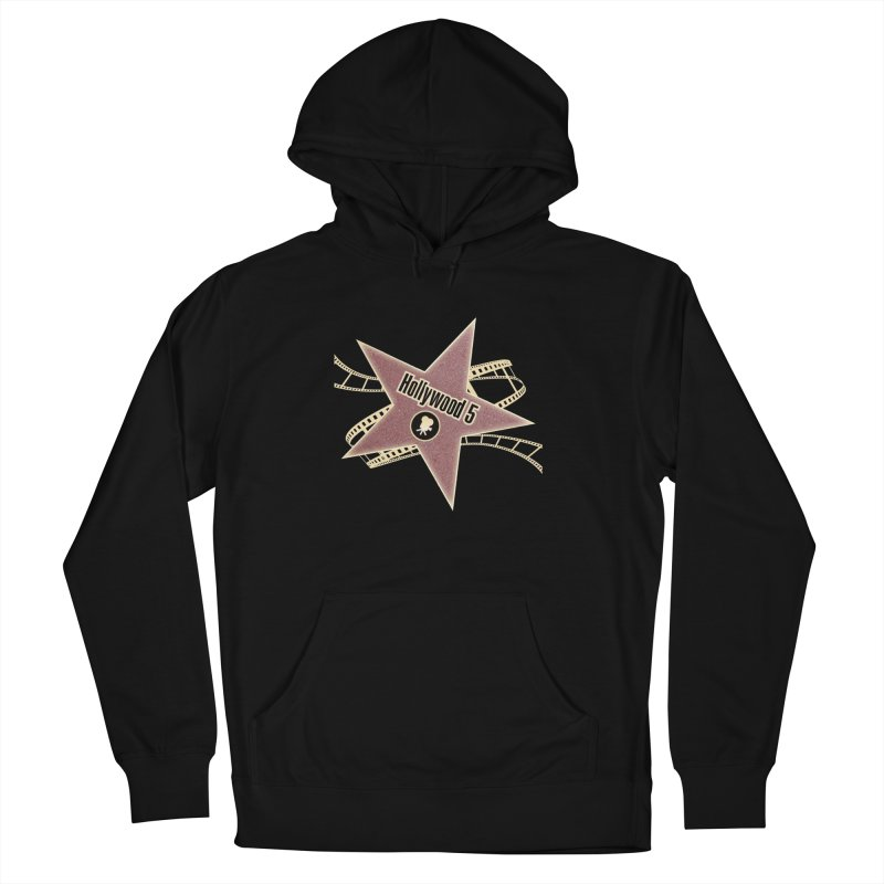 Hollywood 5 Star Men's Pullover Hoody by Todd Sarvies Band Apparel