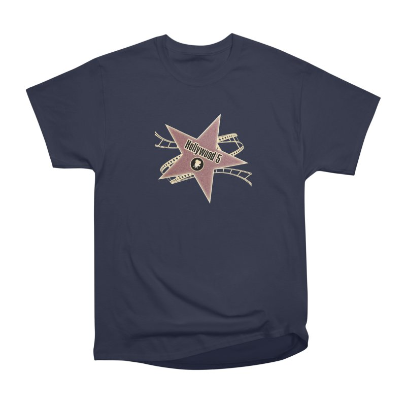 Hollywood 5 Star Men's Classic T-Shirt by Todd Sarvies Band Apparel