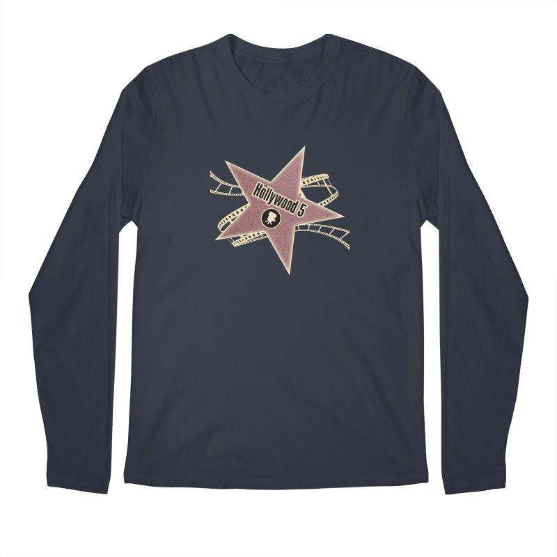 Hollywood 5 Star Men's Regular Longsleeve T-Shirt by Todd Sarvies Band Apparel